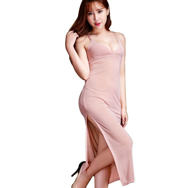 Deercon Frauen plus Gr??e Transparente Dessous langen Kleid-Nachtzeug Babydoll jetzt kaufen