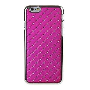 """iPhone 6 Case,Bling Case for iPhone 6 4.7"""", IKASEFU(TM) Studded Armor Dazzling Diamond Hybrid Hard Stars Case Cover,Premium Dual Layer Hybrid Back Cover Case Protection with Bling Diamond Rhinestone Hard Case Cover for iPhone"""