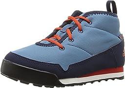 adidas AQ6565 Kid\'s CW Snowpitch Chukka, Blanch Blue/Craft Chili/Col. Navy - 5