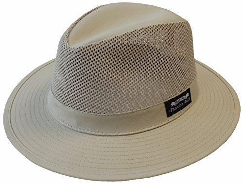 Panama Jack Men's Mesh Safari Hat L Khaki (Panama Jacks compare prices)