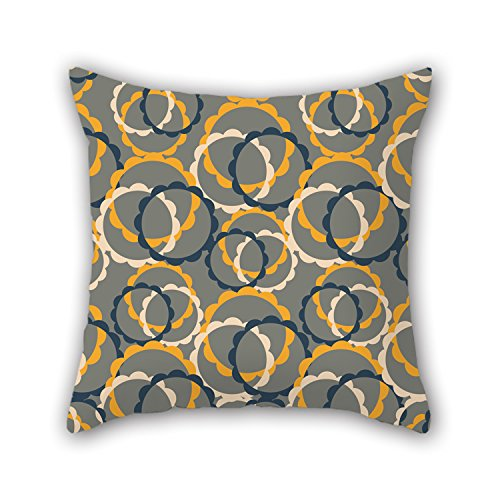 PILLO The Circle Pillowcover Of ,20 X 20 Inches / 50 By 50 Cm Decoration,gift For Lounge,couch,floor,bar Seat,dance Room,couples (each Side) (Magic Color Twist Loom compare prices)