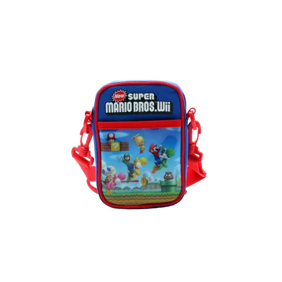 Together Plus   Super Mario Bros Wii. Mini Messenger Bag Characters