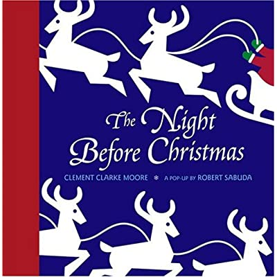 bookcover of Night Before Christmas Pop-up by Robert Sabuda