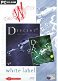 Descent 3 plus Mercenary Add On - White Label (PC CD)