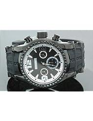 Jojino Mens Black Diamond Watch 2.00ct