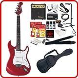 SELDER エレキギター ストラトキャスタータイプ ST-16 初心者入門20点セット /メタリックレッド(9707001020) / セルダー