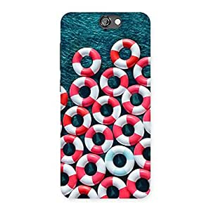 Stylish Saving Sea Back Case Cover for HTC One A9