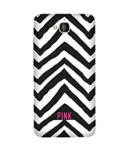 Pink Huawei Honour 6 Plus Case