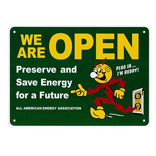 【REDDY KILOWATT】レディキロワット アメリカンサインボード(OPEN グリーン)メッセージ看板 サインボード プラスチック看板 案内看板 アメリカ看板 看板