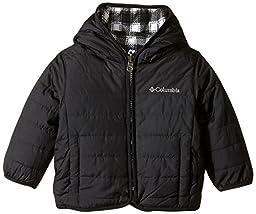 Columbia Baby Boys\' Double Trouble Jacket, Black/Black Tartan, 12-18 Months