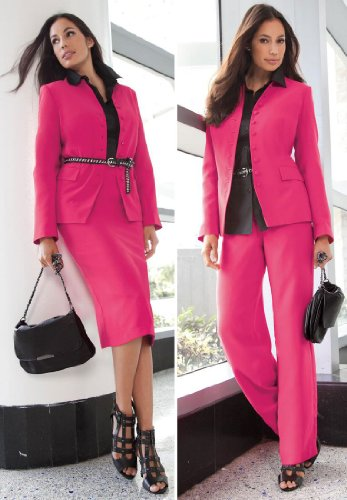 Jessica London Plus Size 3-Piece Suit Wardrober