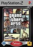 Grand Theft Auto : San Andreas Platinum (PS2)