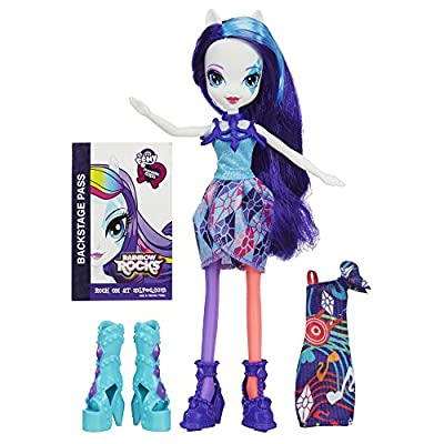 My Little Pony Equestria Girls Rainbow Rocks Rarity Doll with Fashions from My Little Pony