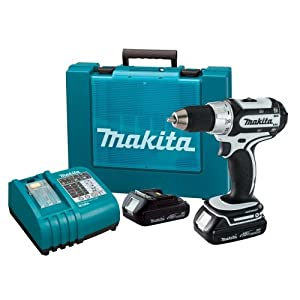 Makita BDF452HW 18-Volt Compact Lithium-Ion Cordless 1/2-Inch Driver-Drill Kit $229.99