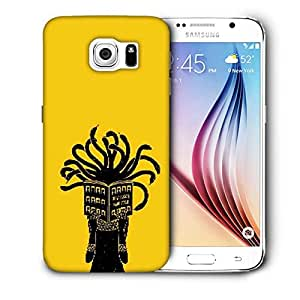 Snoogg Medusa Printed Protective Phone Back Case Cover For Samsung Galaxy S6 / S IIIIII