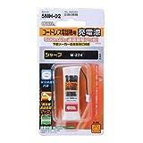 OHM シャープコードレスホン子機用充電池【M-224同等品】 TEL-B2030H/MAIL