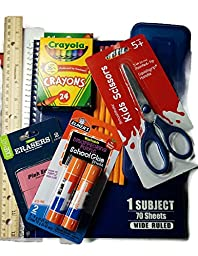 Back to School Supplies First through Fifth Grades