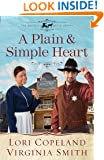 A Plain and Simple Heart (The Amish of Apple Grove) (Thorndike Press Large Print Christian Historical Fiction: the Amish of Apple Grove)