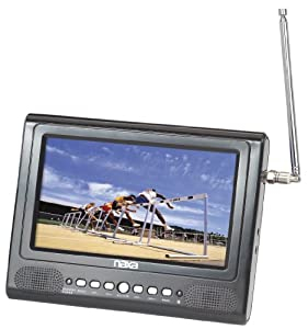 Naxa NT-7579 7-Inch Widescreen Digital LCD Television with FM Radio