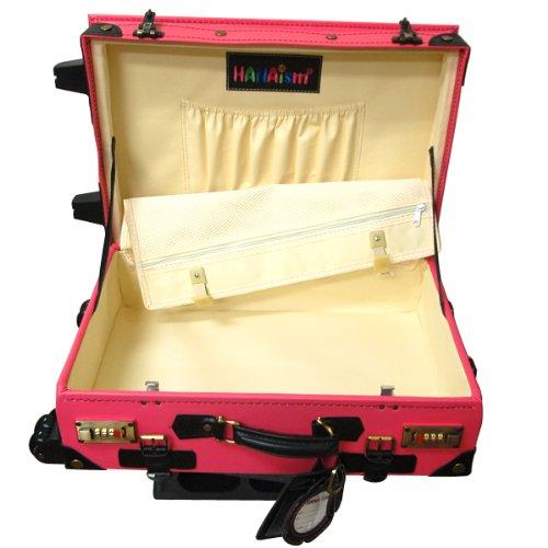 決算ハナイズム トランクキャリーバッグ - HANA ism -S26 ベージュ×ブラウン/キャリーケース・スーツケース