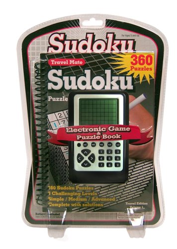 Cheap Fun Sudoku Hand Held Game With Puzzle Book (B000R13IFQ)