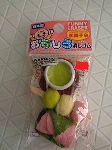 Funny eraser Japanese sweets - 1