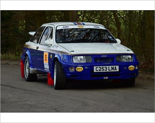 Photographic Print of CM12 0383 Neal Bloor, Ford Sierra Cosworth