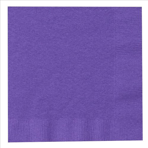Purple Dinner Napkins : package of 20