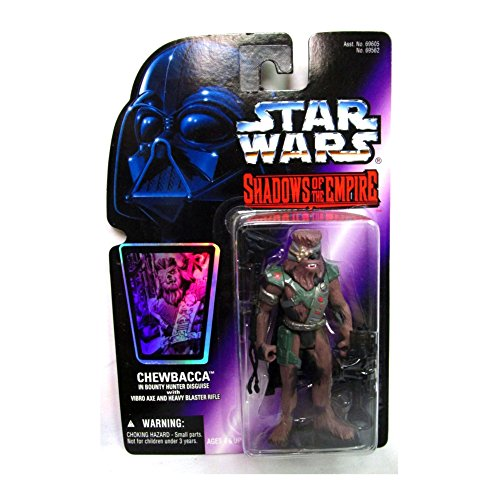 Hasbro Star Wars Shadows Of The Empire Chewbacca In Bounty Hunter Disguise Action Figure