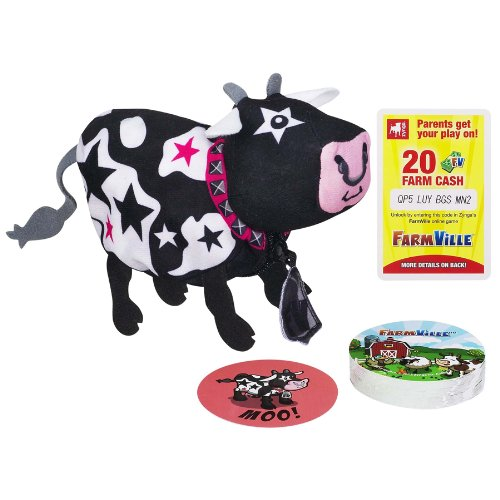 Farmville Animal Game Rockstar Cow/Old Maid Game