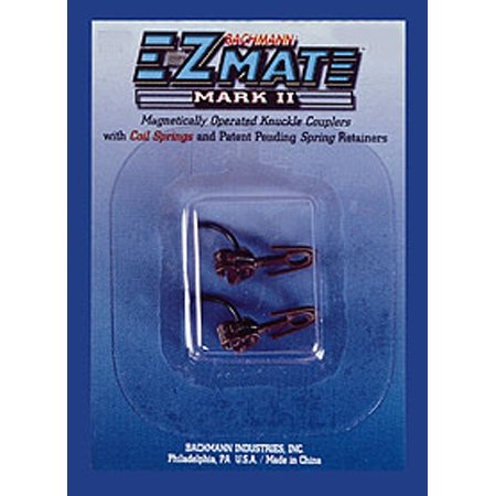 HO EZ Mate Mark II Over Knuckle Coupler, Short - Buy HO EZ Mate Mark II Over Knuckle Coupler, Short - Purchase HO EZ Mate Mark II Over Knuckle Coupler, Short (Bachmann Industries, Toys & Games,Categories,Play Vehicles,Trains & Railway Sets)