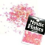 MystickFlakes オーロラピンク バタフライ 0.5g