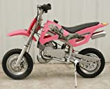 DB49A PINK 49CC 50CC 2-STROKE GAS MOTOR MINI DIRT PIT BIKE