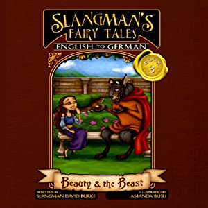 Slangman's Fairy Tales: English to German Audiobook
