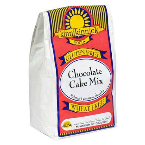 Buy Kinnikinnick Foods Gluten-Free Chocolate Cake Mix, 18-Ounce Bags (Pack of 6) (Kinnikinnick, Health & Personal Care, Products, Food & Snacks, Baking Supplies, Baking Mixes, Cake Mixes)