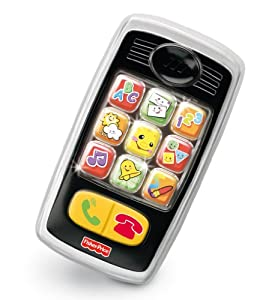 Fisher Price - V2780 - Jouet d'éveil premier age - Smartphone Rire & Eveil
