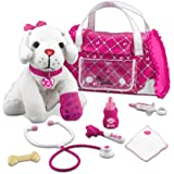Barbie Hug N' Heal Pet Doctor-Lab Set