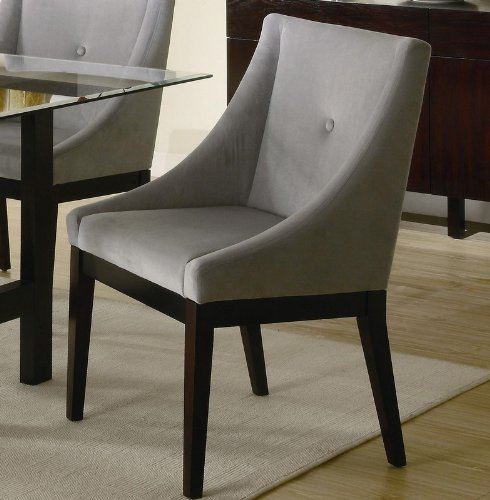 black friday alvarado upholstered dining side chair coaster 102232