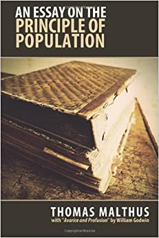 malthus essay on population first edition Purchase a research paper online essay on the principle of population population, the first edition essay on the principle of population, malthus.