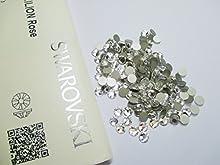 Comprar Swarovski 2058 SS16 Pack de 100 cristales transparentes, 4 mm con pegamento