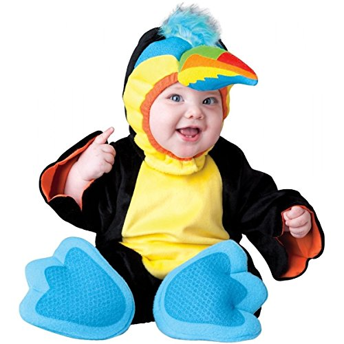 [GSG Toucan Costume Baby Parrot Halloween Fancy Dress] (Parrot Costume Female)