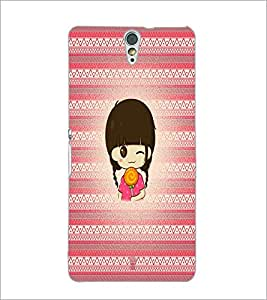 PrintDhaba Cartoon D-5785 Back Case Cover for SONY XPERIA C5 ULTRA (Multi-Coloured)