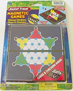 Magnetic Chinese Checkers Chess Checkers