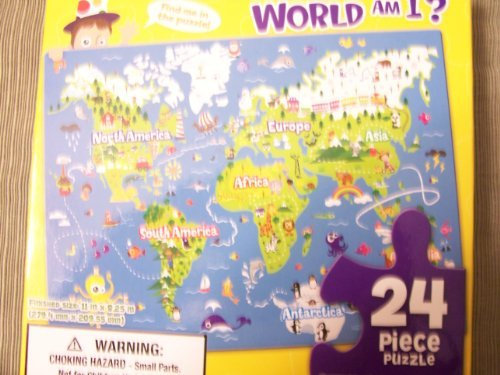 Where In the World Am I? 24 Piece Puzzle