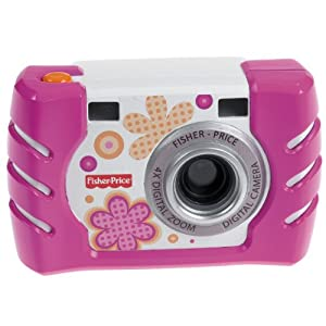 Fisher-Price Kid-Tough Digital Camera - Pink