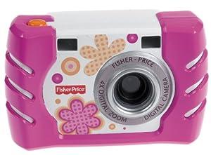 Fisher Price - W1460 - Jeu Electronique premier age - Nouvel Appareil Photo - Rose