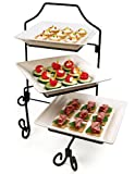 Three Tiered Serving Platters - Brand NEW - Gift Boxed