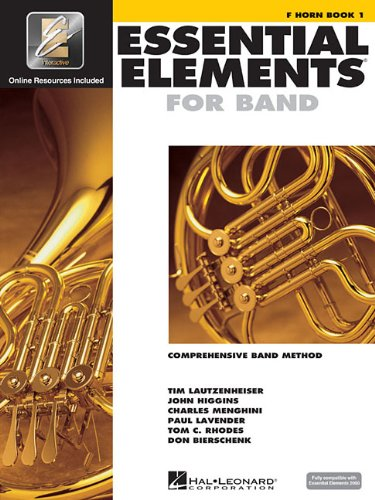 Essential Elements for Band - Book 1 with EEi: F Horn