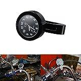 dlll-schwarz-universal-wasserdichte-Motorrad-Motorrad-Lenkerhalterung-Uhr-Passform-7203-cm-oder-25-cm-Lenker-Uhr-fr-Harley-Cruiser-Chopper-Bobber-Softail-Yamaha-Harley-davidsons-Suzuki-Honda-Kawasaki