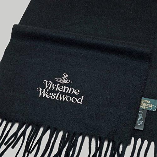 (ヴィヴィアンウェストウッド)Vivienne Westwood マフラー 黒系 vwm1167 【並行輸入品】